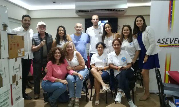 Aseved recauda 180 kilogramos de medicamentos para Venezuela