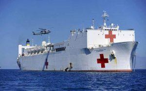 EEUU enviará un buques hospital para ayudar a emigrantes venezolanos en Colombia