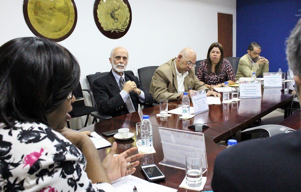 La sociedad civil expresa preocupación tras reunión con la  OPS
