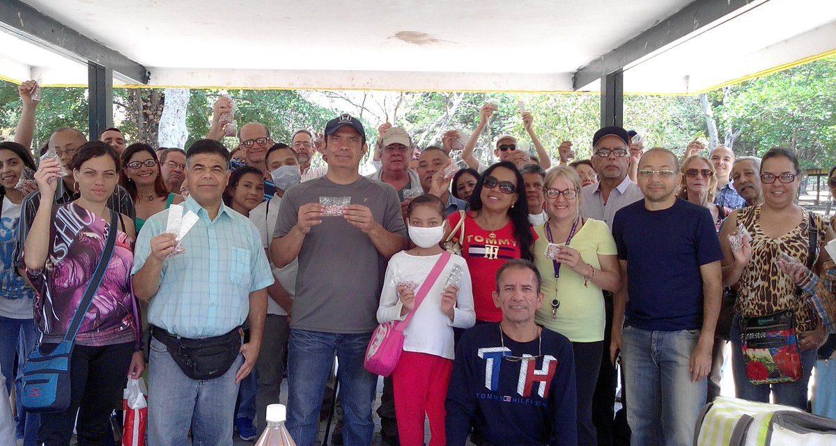 438 trasplantados recibieron donativos de Amigos Trasplantados recaudado por Cuatro por Venezuela
