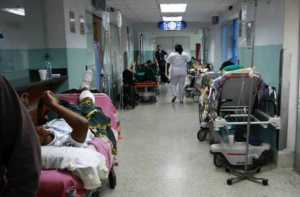 El Hospital Clínico Universitario de Caracas inicia 2018 en terapia intensiva