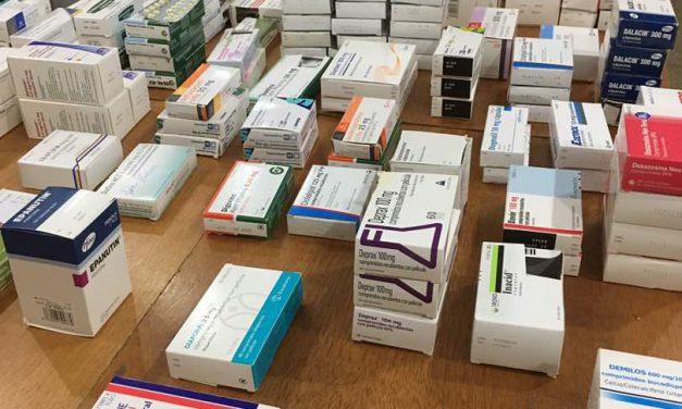 Codevida recibe donativos de medicamentos desde España