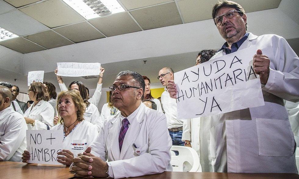 Médicos rechazan la constituyente y exigen ayuda humanitaria para Venezuela