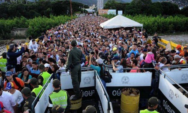 La emergencia humanitaria ha generado la migración de tres millones de venezolanos