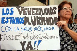 Los pacientes renales en Venezuela están condenados a la enfermedad