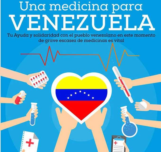 Ayúdanos desde Madrid a recolectar medicamentos e insumos para los venezolanos