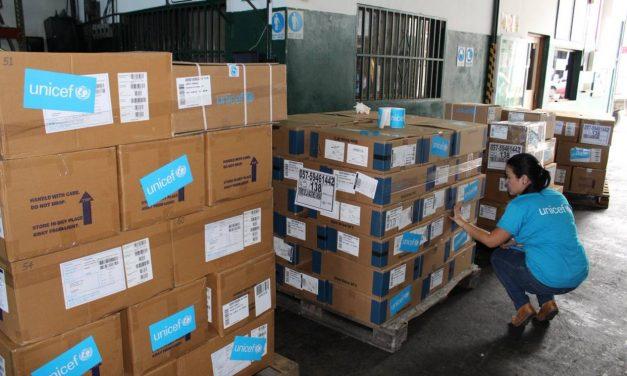 Unicef entregó 95.000 tratamientos contra la malaria al Ministerio de Salud