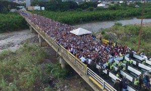 EEUU aprueba ayuda humanitaria adicional para venezolanos en Colombia