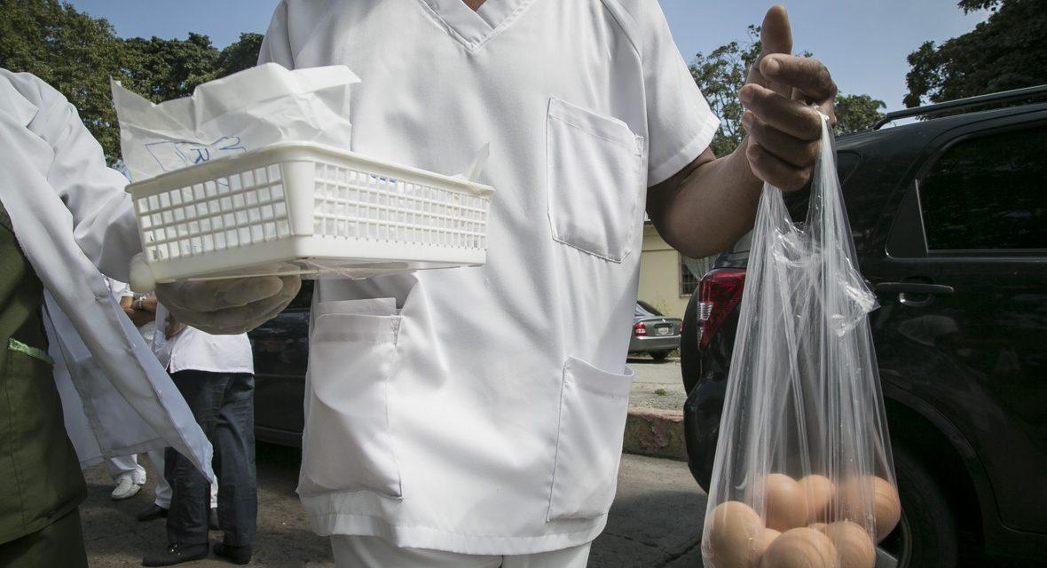 En el hospital del Algodonal retornó el método de los huevos para exámenes de tuberculosis