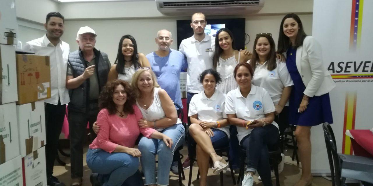 """Gran evento solidario de """"Una Medicina para Venezuela"""" recibió 26 cajas de donativos"""
