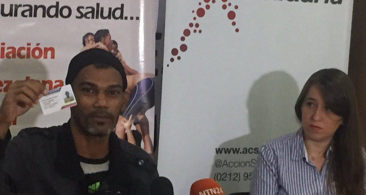 Hernández es revolucionario pero denuncia que gobierno no le ha apoyado con su tratamiento