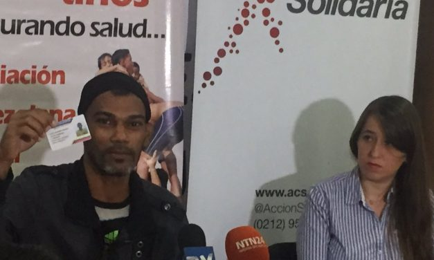 """""""Soy revolucionario pero mi gobierno no me ha apoyado"""", testimonio de paciente con hemofilia"""
