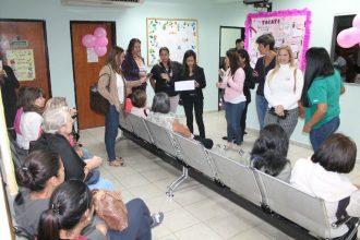42 mujeres asistieron a jornada de pesquisa de cáncer auspiciado por Senos Ayuda