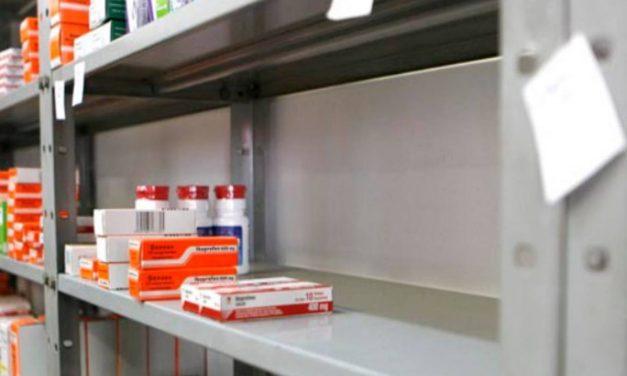 En septiembre la escasez nacional de medicamentos alcanzó el 90%