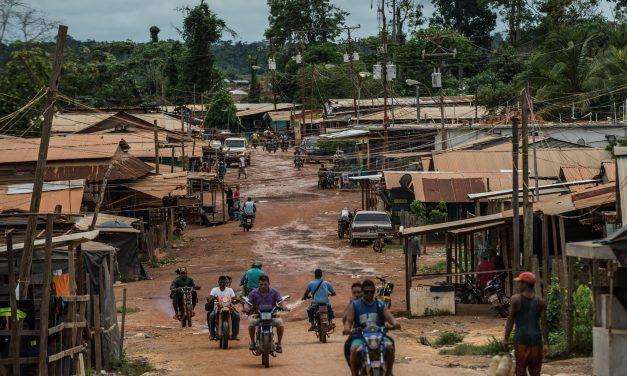 El colapso económico ha forzado la migración hacia las minas propagándose la malaria