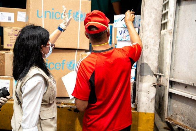 Suministros de las Naciones Unidas llegan a Venezuela para apoyar la respuesta a la COVID-19
